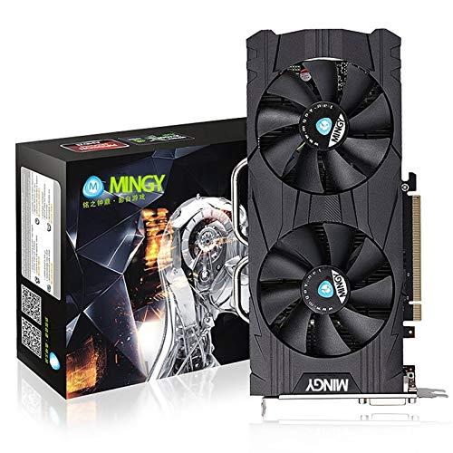 Game Graphics Card- (GTX 1060 6G GDDR5 DVI-D DP HDMI 192 Bit) Ultra-High Performance Office-Grafikkarte, Computer-Video-Grafikkarte, Kernfrequenz 1530MHz, Speicherfrequenz 8008MHz, ultradünne Grafikka