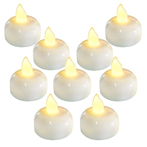 FREESH 36X Waterproof LED Floating Tealight Flameless Candle Wedding Party WHITE