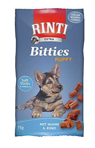 Rinti Hundesnacks Extra Puppy-Sticks 75 g, 8er Pack (8 x 75 g)