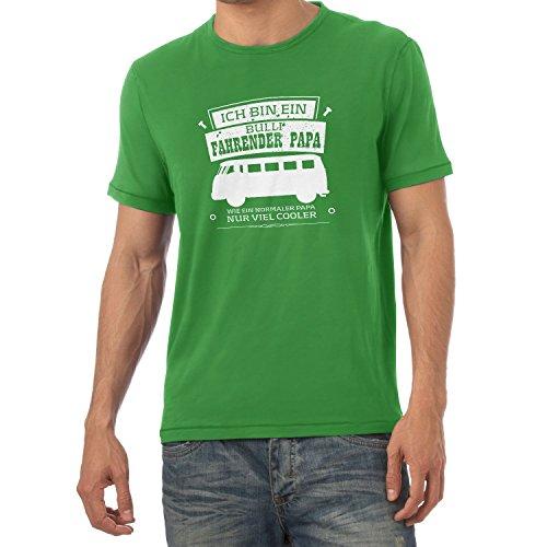 Texlab - Ich bin ein Bulli Fahrender Papa - Herren T-Shirt, Größe XXL, grün