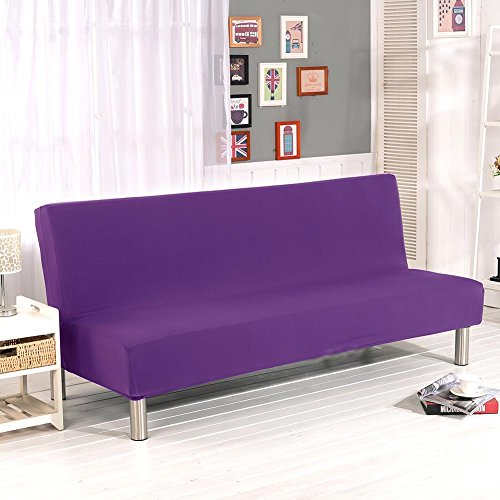 Color sólido todo incluido plegable Sofá cama Sofá cubierta de la cubierta...