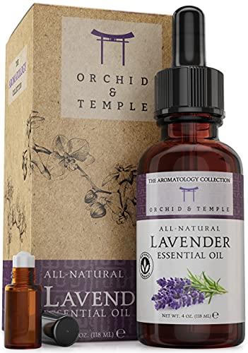 Lavender Essential Oil Set. 100% Pure Therapeutic Grade