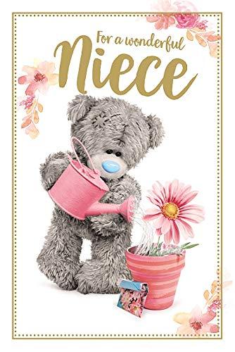 Niece Me To You Bear Tatty Teddy Carte Blanche PhotoFinish Birthday Card