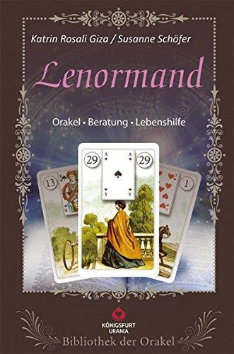 Lenormand: Bibliothek der Orakel. Set mit Buch und Karten. Orakel - Beratung - Lebenshilfe