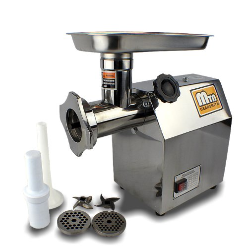 mtn gearsmith meat grinders New Cielo-blue Commercial Electric Meat Grinder Mincer Sausage Stuffer #22