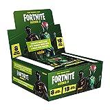 Fortnite Trading card Series 2 BOX DA 18 Bustine- Caja Sobres, Color Verde (Panini España