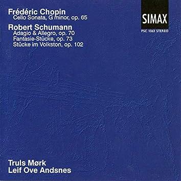 Chopin: Cello Sonata G Minor; Schumann: Adagio & Allegro Op. 70 Etc.