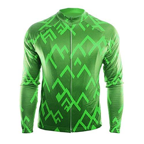 Uglyfrog 2019 Primavera Verano Hombres Ropa Ciclismo Maillot Mangas largas Camiseta de Ciclistas MESD19