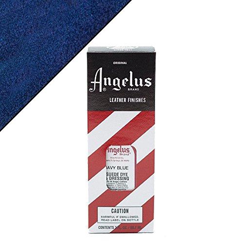 Angelus Suede Dye Navy Blue