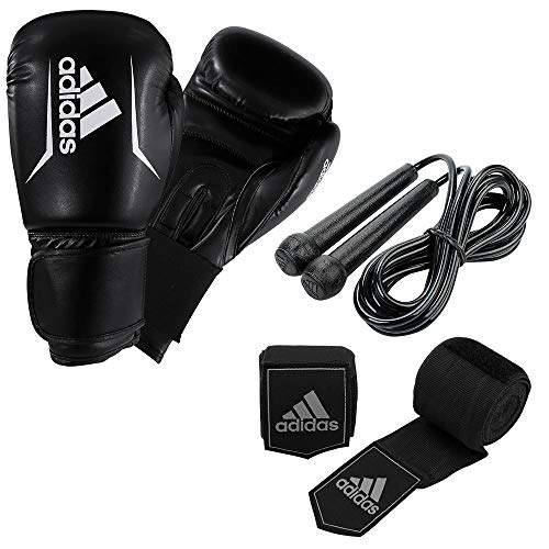 adidas Boxing Kit Performance Boxset, schwarz, Einheitsgröße