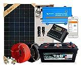 Kit Solar 300Wh / Día COMPLETO | Casas de Campo, Iluminación, Cabañas, Camping