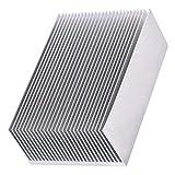 Dissipatore di calore in alluminio per dissipatore di calore Kit per dissipatore di calore...
