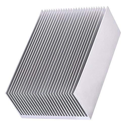 Fdit 1 stück kühlkörper kit aluminiumkühlkörper kühlkühler für led verstärker Transistor ic modul 100 * 69 * 36mm MEHRWEG VERPACKUNG socialme-eu