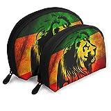 Monedero con diseño de bandera de león