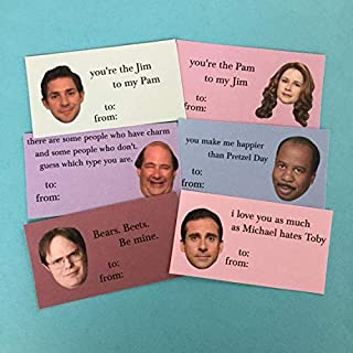 The Office Mini Valentine's Day Cards