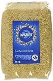 Davert Parboiled Reis Langkorn weiß, 2er Pack (2 x 1 kg) - Bio