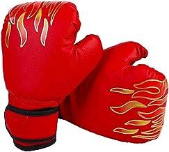 Kids Bokshandschoenen, Synthetisch Leer Kinderen Bokstraining Handschoenen Leather Professional Training Sparring Kickboxi...