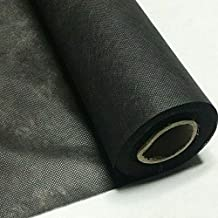 Lukaswinges Polypropylene Black Interfacing Dust Cover Cloth Fabric 36 inches Wide Cambric