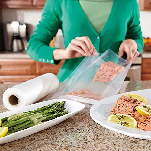 FoodSaver 8 and 11 Vacuum Seal Rolls Multipack   Make Custom-Sized BPA-Free Vacuum Sealer Bags