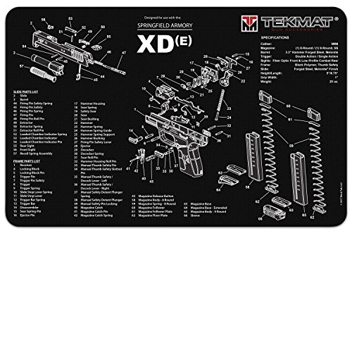 TekMat Cleaning Mat for use with Springfield XD-E