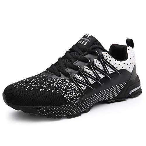 SOLLOMENSI Zapatillas de Deporte Hombres Running Zapatos para Correr Gimnasio Sneakers Deportivas...