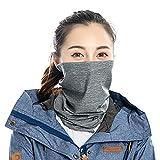 Homemust Bufandas faciales Protectoras Velo Polvo Solar Protección UV Transpirable Ciclismo Turbante Multifuncional Deportes al Aire Libre Cubierta del Babero
