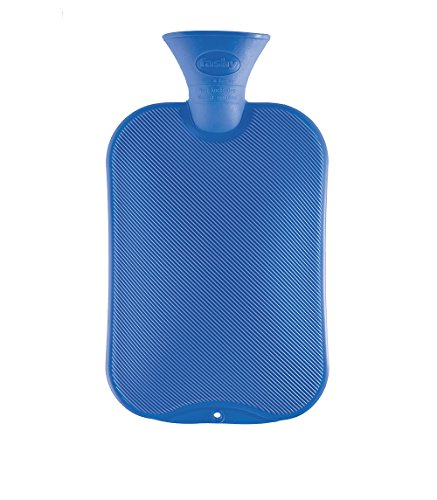 Fashy Hot Water Bottle Classic Assorted Colors - Made in Germany