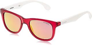 نظارات شمسية باطار مستطيل للاطفال من الجنسين كارينو 20 من كاريرا - ابيض/ زهري/ ذهبي