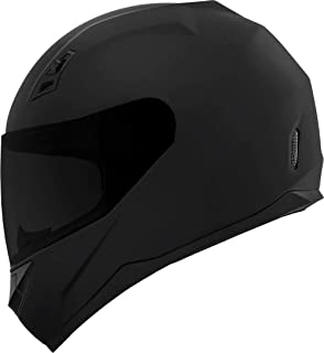 GDM DK-140 Full Face Motorcycle Helmet Matte Black (Large, Clear and Tinted Visors)
