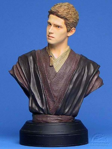 ANAKIN SKYWALKER Attack of the Clones STARWARS LIMITED & NUMBERED EDITION STATUE BUST image
