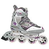 Roller Derby Aerio Q-60 Women's Inline Skates - White/Grey - Size 07
