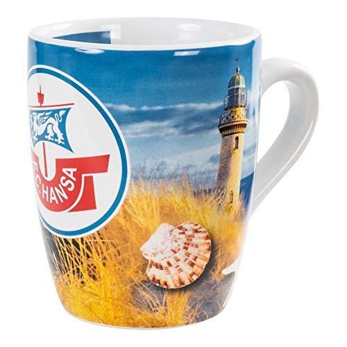 FC Hansa Rostock Tasse, Becher, Kaffeetasse Leuchtturm