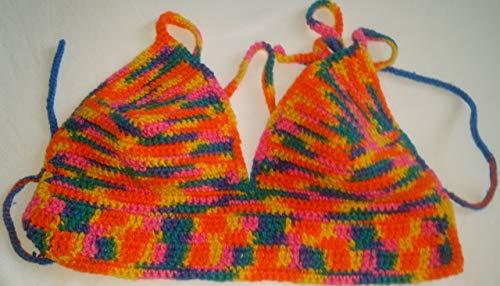 Multi-color bra top