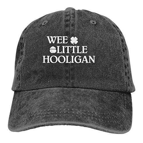 ONGH Wee Little Hooligan Dad Denim Hüte gewaschen Baseball Caps einstellbare Frauen