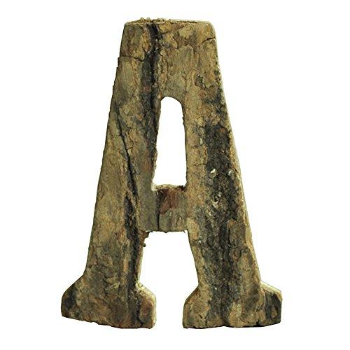 Gossipboy Letras números adhesivos madera decorar