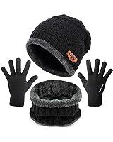 Maylisacc Winter Knit Hat Scar...