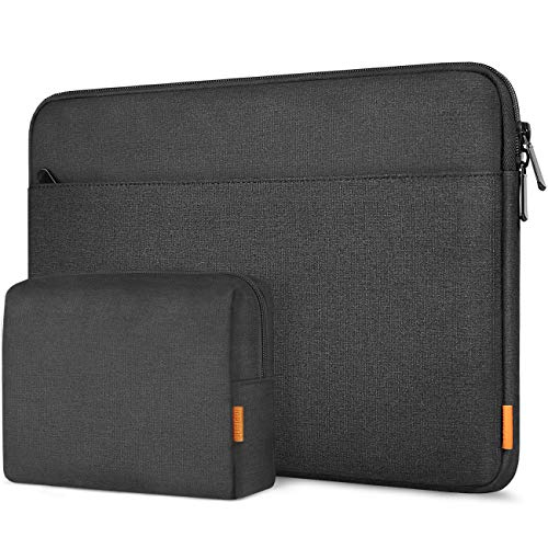 Inateck 13 Inch Laptop Case Sleeve Compatible with MacBook Air M1, MacBook Pro M1, MacBook Pro 13 inch 2016-2021, MacBook Air 13 Inch 2018-2021, Surface Pro 7/6/X/5/4/3, iPad Pro 12.9 - Black