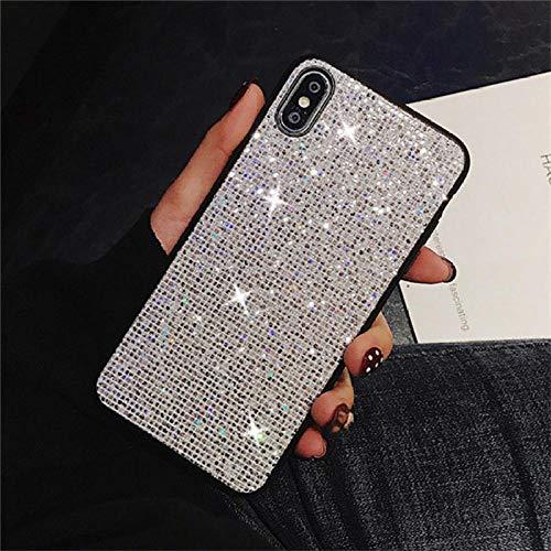 Haodong Diamond Glitter Bling Phone Case para xiaomi redmi Note 8 7 Pro Cubierta para xiaomi mi 8 SE Lite 5X 6X A1 A2 Mix 2S Mix 3 (2 Piezas, Color Opcional)-para redmi NOTE8 Pro_3