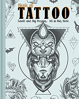 Book of Tattoo  Minimal and Big Designs Combined