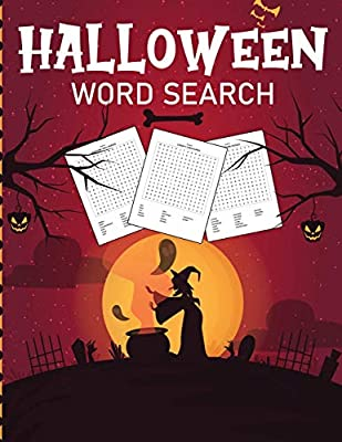 Halloween Word Search: Puzzle Activity Book For Kids and Adults | Halloween Gifts