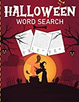 Halloween Word Search: Puzzle Activity Book For Kids and Adults - Halloween Gifts