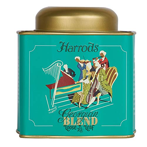 HARRODS of London - Archive Collection Georgian Blend Tea / Archiv-Sammlung Georgian Mischung Tee - 125gr Dose (Lose blatt)