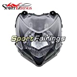 Sportbikefairings Motorcycle Head Light Lamp Assembly For Ducati 848 streetfighter Year 2009 2010 2011 2012 New After-Market Moto Headlamp Front Headlight Housing Clear