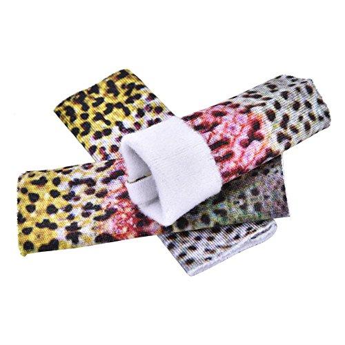 飞钓手指防护罩,3pcs手指皮肤保护罩飞钓线剥离防护罩,保护失速手防护罩工具