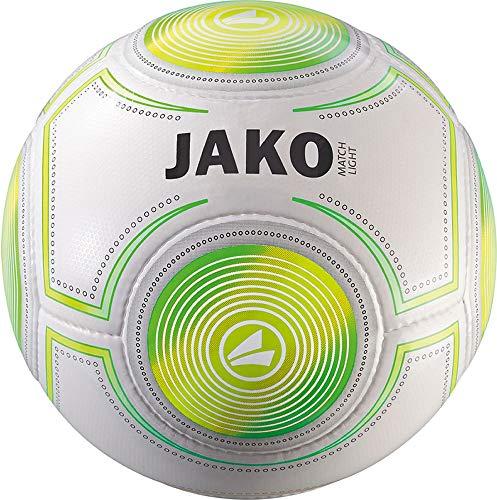JAKO Herren Lightball Match, weiß/neongrün/neongelb-290g, 3