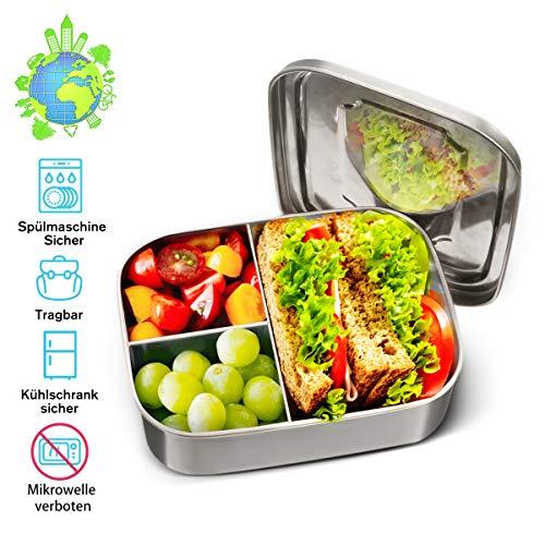 Charminer Lunchbox Edelstahl, Bento Box...