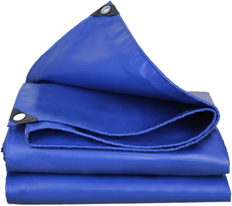 QQHWDT LYX® Messer Scraping Tuch, regendichtes Tuch Tuch Tuch verdicken Plane Wasserdichtes Sunscreen haltbares Auto-LKW-Segeltuch drücken und ziehen Schuppen-Tuch-Plane-Blau B07JFYJ2RS  Billig 0bcbbe