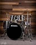 Tama IE52C Imperialstar 5-Piece Complete Kit with Meinl HCS Cymbals, Black Oak Wrap