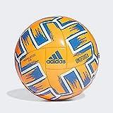 adidas UNIFO CLB Balón de Fútbol, Men's, Solar Orange/Glory Blue/White, 5