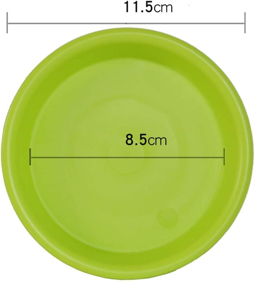 Details about  /20pcs Movable Plant Pot Tray Round Resin Flowerpot Cork Base Drip Tray Garden Ba